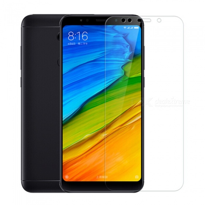 Naxtop Tempered Glass Screen Protector for Xiaomi Redmi 5 - TransparentScreen Protectors<br>ColorTransparent (1PC)ModelN/AMaterialTempered GlassQuantity1 pieceCompatible ModelsXiaomi Redmi 5Features2.5D,Fingerprint-proof,Scratch-proof,Tempered glassPacking List1 x Tempered glass film1 x Wet wipe1 x Dry wipe1 x Dust absorber<br>