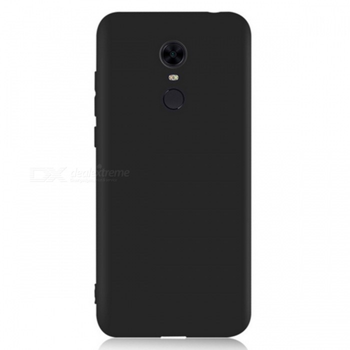 Naxtop TPU Ultra-thin Soft Case for Xiaomi Redmi 5 - BlackTPU Cases<br>ColorBlackModelN/AMaterialTPUQuantity1 pieceShade Of ColorBlackCompatible ModelsXiaomi Redmi 5Packing List1 x Case<br>