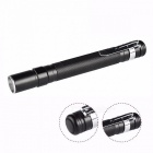 Portable Mini Penlight CREE Q5 2000LM LED Flashlight Torch, Waterproof Pocket Light Torch Lamp, Use 2*AAA Battery - Black