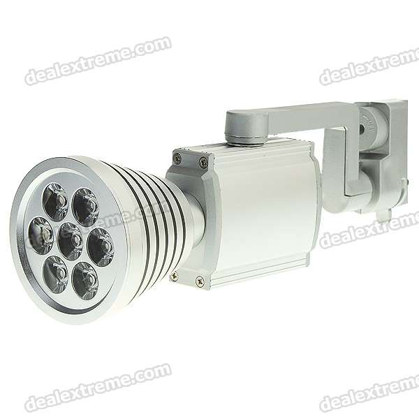 7W 7-LED 3500K 580-Lumen Spot Light Bulb - Warm White Light (100~240V)