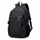 Ctsmart YZ531 Waterproof Anti-Theft Backpack with USB Charging Port for Outdoor Cycling Mountaineering Hiking - Black