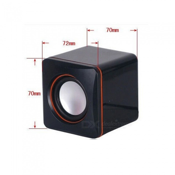 maikou portable mini bureau usb 2 0 haut parleur subwoofer pour portable ordinateur portable. Black Bedroom Furniture Sets. Home Design Ideas
