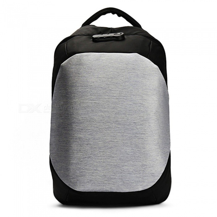CTSmart 8801 25L Waterproof Anti-Theft Leisure Backpack Shoulder Bag with USB Charging Port - SilverColorSilverBrandOthers,Others,CTSmartModel8801Quantity1 DX.PCM.Model.AttributeModel.UnitMaterialOxford clothTypeHiking &amp; CampingGear Capacity20-35 DX.PCM.Model.AttributeModel.UnitCapacity Range20L~40LRaincover includedNoBest UseRunning,Climbing,Mountaineering,TravelTypeBackpack Accessories,Hiking DaypacksPacking List1 x Backpack<br>