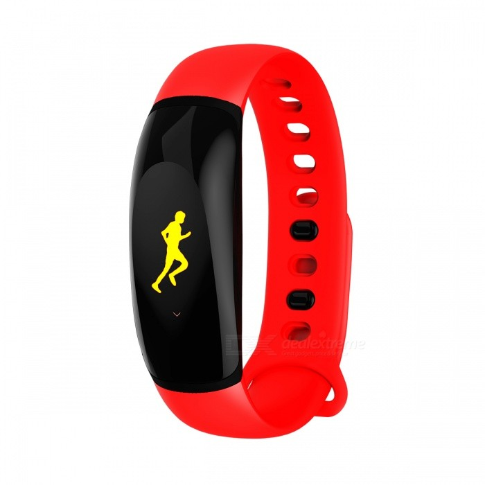 Eastor U8 Plus IP67 Waterproof Color LED Bluetooth Smart Band Bracelet w/ Heart Rate, Blood Pressure Monitor - RedSmart Bracelets<br>ColorRedModelU8 PLUSQuantity1 DX.PCM.Model.AttributeModel.UnitMaterialTPUShade Of ColorRedWater-proofIP67Bluetooth VersionBluetooth V4.0Touch Screen TypeYesOperating SystemNoCompatible OSIOS 8.0 and above and Android 4.4 and above.Battery Capacity110 DX.PCM.Model.AttributeModel.UnitBattery TypeLi-polymer batteryStandby Time8 DX.PCM.Model.AttributeModel.UnitPacking List1 x Smart band<br>