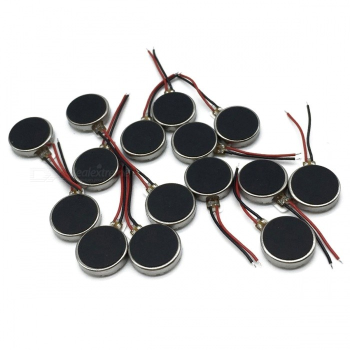 12Pcs DC 3V 12000RPM Two Wired 10mm x 3mm Coin Cell Phone Vibration MotorsDIY Parts &amp; Components<br>Color12 PCSQuantity12 DX.PCM.Model.AttributeModel.UnitMaterialMetalEnglish Manual / SpecNoCertificationNOPacking List12 x Vibrating motors<br>