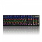 Ajazz ak50 game mechanical keyboard 104-button with backlight - mx blue switch