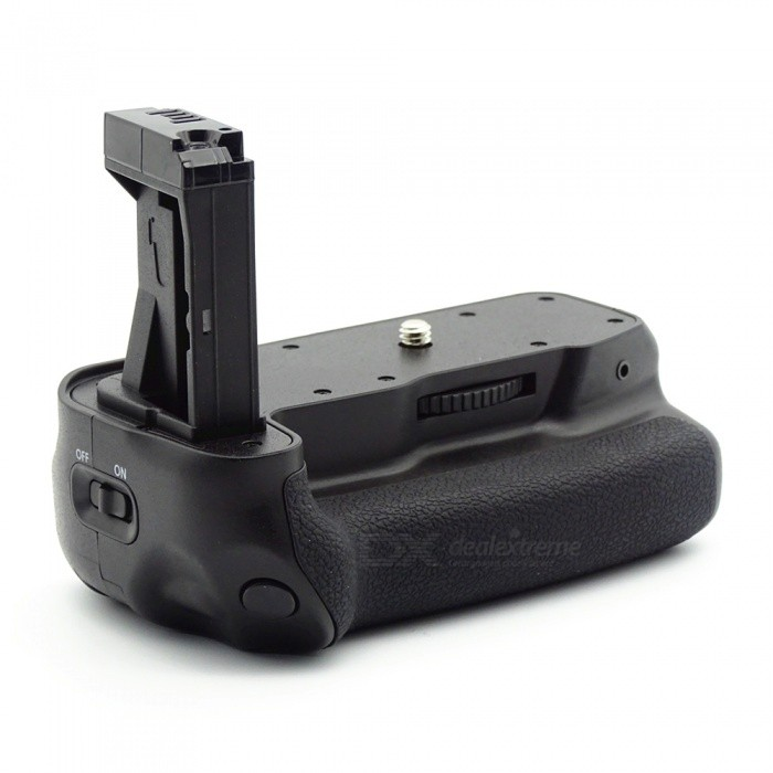 Camera Battery Grip for Canon EOS 800D / T7i / X9i / 77D - BlackExternal Batteries<br>ColorBlackMaterialABSQuantity1 pieceCompatible BrandCanonCompatible ModelsEOS 800D / T7i / X9i / 77D / 9000DCertificationCEPacking List1 x Battery Grip1 x Connecting Line1 x English Manual<br>
