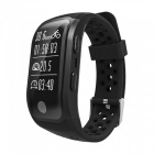 Eastor S908 Bluetooth Smart Band Bracelet w/ GPS, Heart Rate, Sleep Monitor, Pedometer, Fitness Tracker for Android IOS - Black