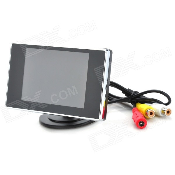 "3.5"" TFT LCD Monitor Visual Reversing/Vehicles Reverse Camera (NTSC/PAL DC8-15V)"