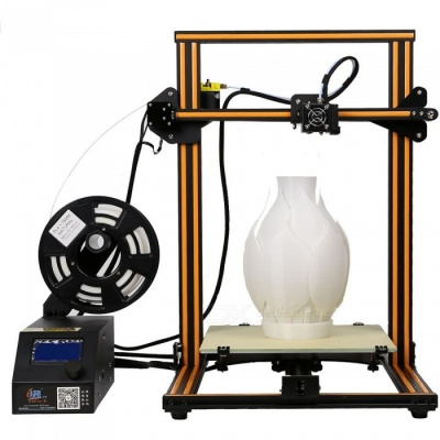 Creality3D CR-10 DIY Lage Size 3D Printer Kit - Orange (EU Plug)