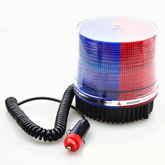 KELIMA Car 12V Magnetic Ceiling Red and Blue Color Flashing Warning LampDecorative Lights / Strip<br>ColorRed + BlueQuantity1 DX.PCM.Model.AttributeModel.UnitMaterialABSPower3 DX.PCM.Model.AttributeModel.UnitWorking Voltage12VConnectorOthers,Car chargerApplicationOthers,RoofSuitable forUniversalOther FeaturesCar cigarette lighter plug powered; Can place onto instrument table, or the top of car; Built-in magnet, easy installation; Spring cable design,Packing List1 x Red and blue color warning lights<br>