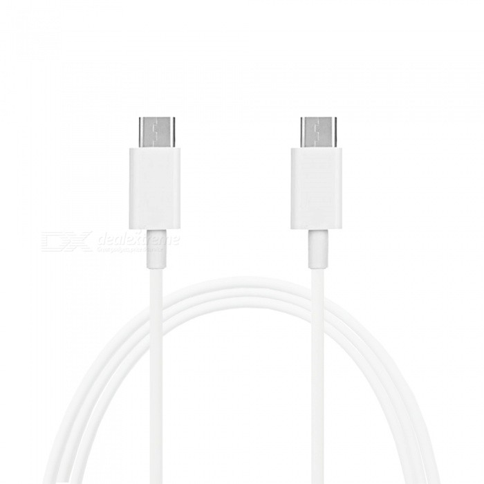 Mini Smile Quick Charge USB 3.1 Type-C Male to Male PD Data / Charging Cable - WhiteCables<br>ColorWhiteModelTC-MMMaterialABSQuantity1 DX.PCM.Model.AttributeModel.UnitCompatible ModelsUniversalConnectorType-C MalePacking List1 x Cable<br>
