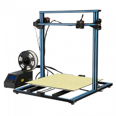 Ceality3D CR-10(500) Super Size DIY Desktop 3D Printer Kit - Blue(US Plug)