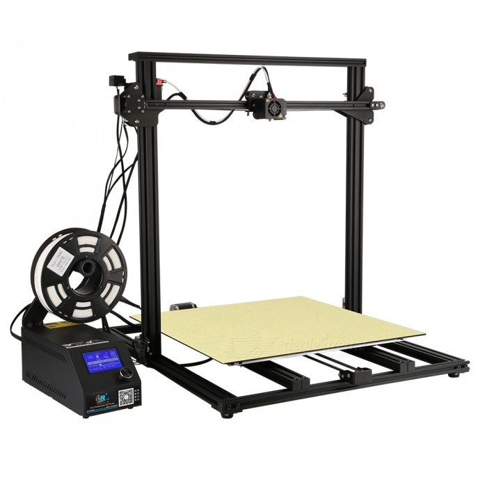 Ceality3D CR-10(500) Super Size DIY Desktop 3D Printer Kit - Blue (EU Plug)3D Printers, 3D Printer Kits<br>ColorBluePlug TypeEU PlugModelCR-10(500)Quantity1 setMaterialProfilePacking List1 x 3D Printer1 Box x Tools1 x 200g PLA filament1 x SD Card1 x Manual and after-service card<br>