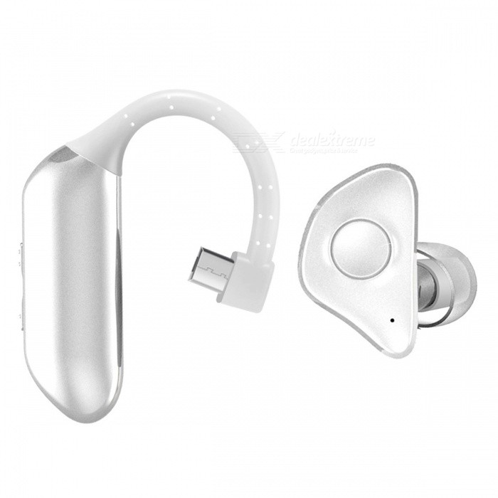 P-TOP Bluetooth V4.1 Business Hands-Free Earphones Wireless Sports Sweatproof Running Earbuds - WhiteBluetooth Headphones<br>ColorWhiteBrandOthers,-MaterialABSQuantity1 setConnectionBluetoothBluetooth VersionBluetooth V4.0Operating Range10MConnects Two Phones SimultaneouslyNoHeadphone StyleUnilateralWaterproof LevelOthers,-Applicable ProductsUniversal,IPHONE 7,IPHONE 7 PLUSHeadphone FeaturesPhone Control,Long Time Standby,Noise-Canceling,Volume Control,With Microphone,Lightweight,For Sports &amp; ExerciseSupport Memory CardNoSupport Apt-XNoBattery TypeLi-ion batteryStandby Time150 hourTalk Time9 hourMusic Play Time8 hourPacking List1 x Bluetooth Headset<br>