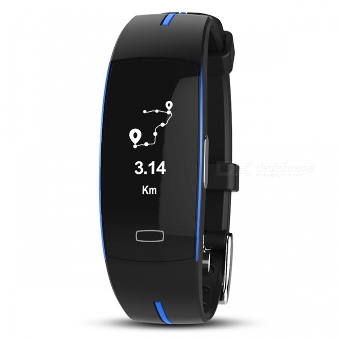 P-TOP P3 Sport Smart Bracelet Band w/ ECG Monitor, Blood Pressure, Real-time Heart Rate Monitior for IOS Android - BlueColorBlueQuantity1 DX.PCM.Model.AttributeModel.UnitShade Of ColorBlueCasing MaterialPC+ABSWristband MaterialPC+ABSSuitable forAdultsGenderUnisexStyleWrist WatchDisplayAnalog + DigitalMovementOthers,-Display Format24 hour time formatWater ResistantOthers,IP68Dial Diameter4 DX.PCM.Model.AttributeModel.UnitDial Thickness0.3 DX.PCM.Model.AttributeModel.UnitWristband Length26 DX.PCM.Model.AttributeModel.UnitBattery-Packing List1 x Smart Bracelet<br>