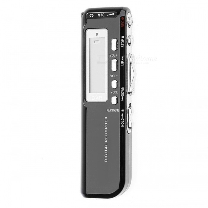 Mini Handheld 8GB USB Digital Audio Recorder, Supports MP3 Playback - BlackDigital Voice Recorders<br>ColorBlackModel518MaterialABSQuantity1 pieceShade Of ColorBlackSupports Card TypeMicroSD (TF),TFMax Extended Capacity32GBRecord Audio FormatMP3Audio FormatsMP3Built-in SpeakerYesRecording Time10Battery TypeAAABuilt-in Battery Capacity 0 mAhPower AdapterOthers,NoHeadphones IncludedYesWith ClipNoPacking List1 x Recording Pen1 x USB Cable1 x External Microphone1 x Cable1 x 3.5mm Audio Cable1 x Earphone1 x Telephone Adapter1 x User Manual<br>