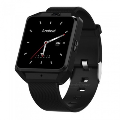 H5 Smart Watch, Support 4G Network, Wi-Fi, GPS Navigation, 5.0MP Camera, Heart Rate Monitor - Black
