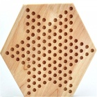 Wooden Desktop Game Checkers Educational Toy for Children Adults
