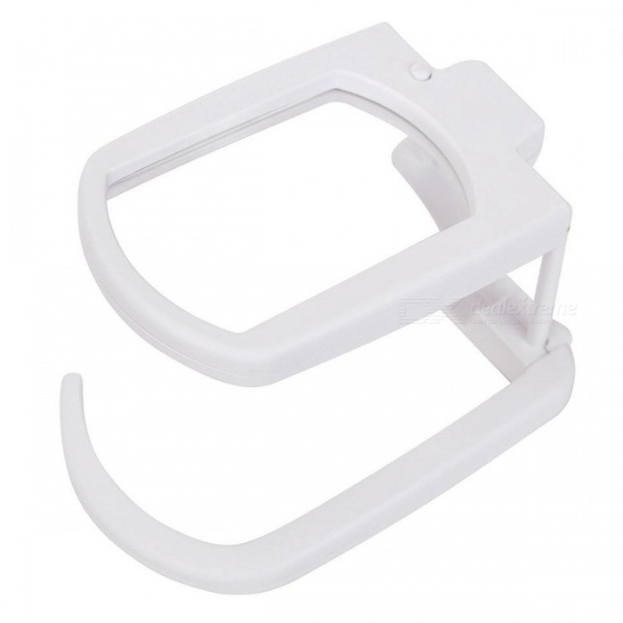 OJADE Multifunction 2-LED 3X Foldable Magnifier, Illuminated Hands Free Reading Magnifying GlassMagnifiers<br>ColorWhiteModel3001Quantity1 DX.PCM.Model.AttributeModel.UnitMaterialABSMagnificationOthers,3Lens Size8x5.1cmPacking List1 x Magnifier<br>