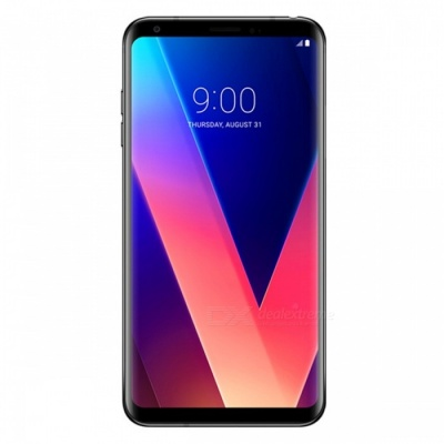 LG V30+ H930DS Mobile Phone with 4GB RAM 128GB ROM - Black