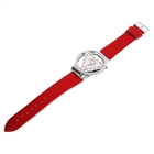 Stylish Quartz Wrist Watch with Imitate Diamond - Red (1*377)