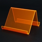 Plastic Crystal Holder for Cell Phone/Iphone/Ipad/PDR/MP3/MP4 - Orange