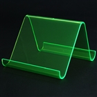 Plastic Desktop Stand Holder for Cell Phone/ Iphone/Ipad /MP3/MP4 - Green