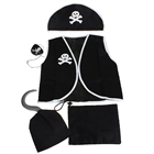 Set of 5 Cosplay Pirate Suit Costume for Children (95~120cm)
