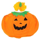 Cute Non-Woven Fabrics Cosplay Pumpkin Style Costume Tops + Headwear (for Height 130~160cm)