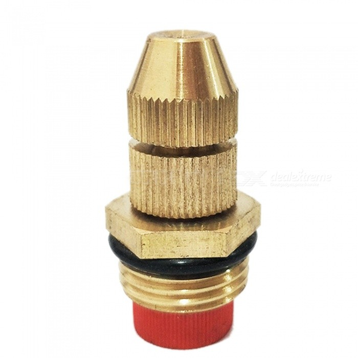 ZHAOYAO Adjustable Copper Nozzle for Lawn Garden Irrigation SprinklerGardening Tools<br>Form  ColorAntique BrassQuantity1 DX.PCM.Model.AttributeModel.UnitMaterialBrass / CopperPacking List1 x Nozzle<br>