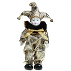 Valentines Gift Guardian Angel of Love Triangel Doll - Gold + Black + Silver