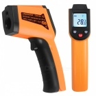 Dekopro wd01 non-contact laser lcd display ir infrared digital c/f selection surface temperature thermometer pyrometer imager yellow-400
