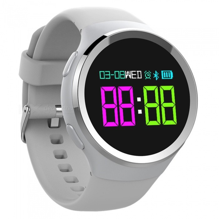 N69 Bluetooth Smart Watch Color Big Screen with Heart Rate, Blood Pressure, Blood Oxygen Monitoring, Caller ReminderSmart Bracelets<br>ColorwhiteModelN69Quantity1 DX.PCM.Model.AttributeModel.UnitMaterialTPUWater-proofIP68Bluetooth VersionBluetooth V4.0Touch Screen TypeOthers,OLEDOperating SystemAndroid 4.4,iOSCompatible OSAndroid IOSBattery Capacity250 DX.PCM.Model.AttributeModel.UnitBattery TypeLi-ion batteryStandby Time15 DX.PCM.Model.AttributeModel.UnitPacking List1 x Smart Watch1 x Charger1 x User Manual<br>