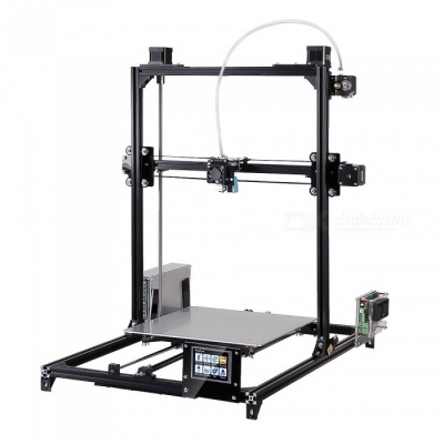 Flsun I3 DIY 3D Printer Kit w/ Large Printing Area 300*300*420mm, Touch Screen - Black (EU Plug)