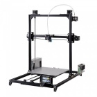 Flsun i3 DIY 3D Printer Kit w/ Large Printing Area 300*300*420mm, Autolevel, Touch Screen, Dual Nozzle - Black (EU Plug)
