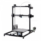 Flsun i3 DIY 3D Printer Kit w/ Large Printing Area 300*300*420mm, Autolevel, Touch Screen, Dual Nozzle - Black (AU Plug)