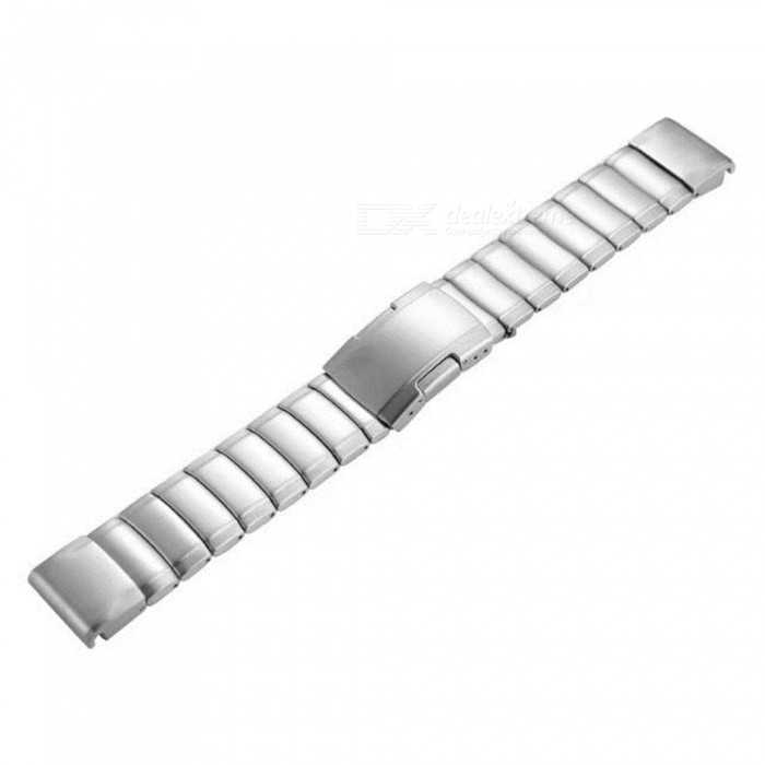 Stainless Steel Watch Band for Garmin Fenix 5S - SilverWearable Device Accessories<br>ColorSilverQuantity1 DX.PCM.Model.AttributeModel.UnitMaterialStainless steelPacking List1 x Watch Band<br>