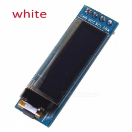 "Produino 0.91"" IIC I2C SPI 128x32 White OLED LCD Display Module for Arduino PIC"