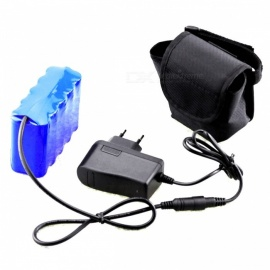AIBBER TONE 8.4V 20000mAh 10x18650 Rechargeable Li-ion Battery Pack with Charger for LED Bicycle Lamp