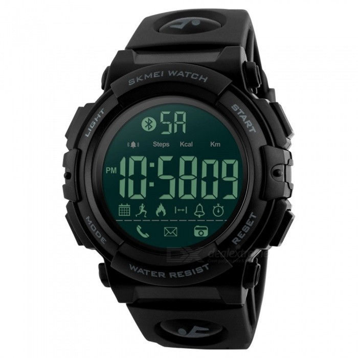 SKMEI 1303 50m Waterproof Multifunction Sports Watch - BlackSport Watches<br>ColorBlackModel1303Quantity1 DX.PCM.Model.AttributeModel.UnitShade Of ColorBlackCasing MaterialABSWristband MaterialPUSuitable forAdultsGenderMenStyleWrist WatchTypeFashion watchesDisplayDigitalMovementDigitalDisplay Format12/24 hour time formatWater ResistantWater Resistant 5 ATM or 50 m. Suitable for swimming, white water rafting, non-snorkeling water related work, and fishing.Dial Diameter4.7 DX.PCM.Model.AttributeModel.UnitDial Thickness1.7 DX.PCM.Model.AttributeModel.UnitWristband Length25.5 DX.PCM.Model.AttributeModel.UnitBand Width2.2 DX.PCM.Model.AttributeModel.UnitBattery1 x CR2450Packing List1 x Watch<br>
