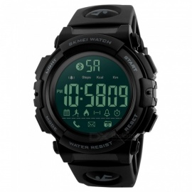 SKMEI 1303 50m Waterproof Multifunction Sports Watch - Black