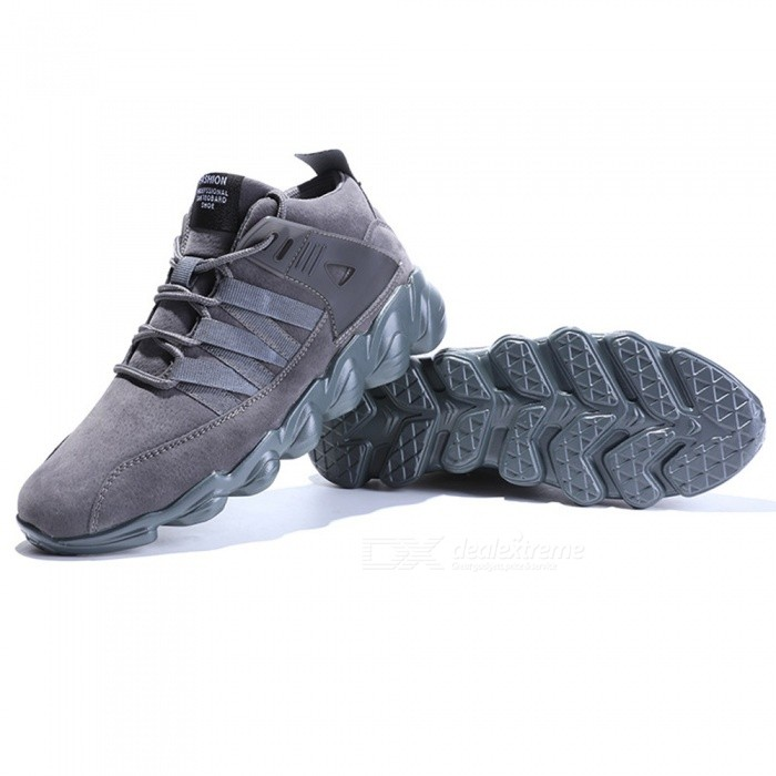 7999 Mens Stylish Breathable Casual Shoes - Grey (43)Shoes<br>ColorgraySize43Model7999Quantity1 setShade Of ColorGrayMaterialCottonStyleSportsFoot Length26.5 cmFoot Girth10-15 cmHeel Height1.5 cmPacking List1 x Shoes<br>