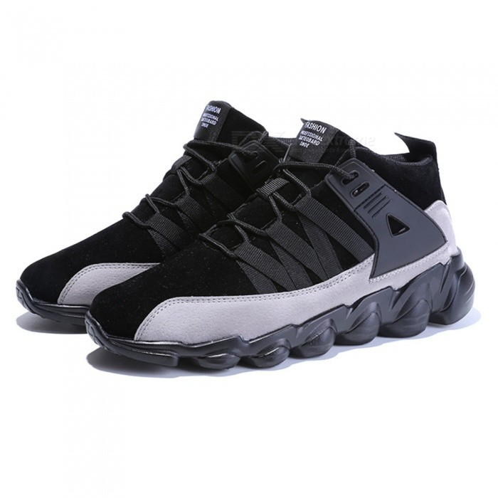 7999 Mens Stylish Breathable Casual Shoes - Black (41)Shoes<br>ColorblackSize41Model7999Quantity1 DX.PCM.Model.AttributeModel.UnitShade Of ColorBlackMaterialCottonStyleSportsFoot Length25.5 DX.PCM.Model.AttributeModel.UnitFoot Girth10-15 DX.PCM.Model.AttributeModel.UnitHeel Height1.5 DX.PCM.Model.AttributeModel.UnitPacking List1 x Shoes<br>