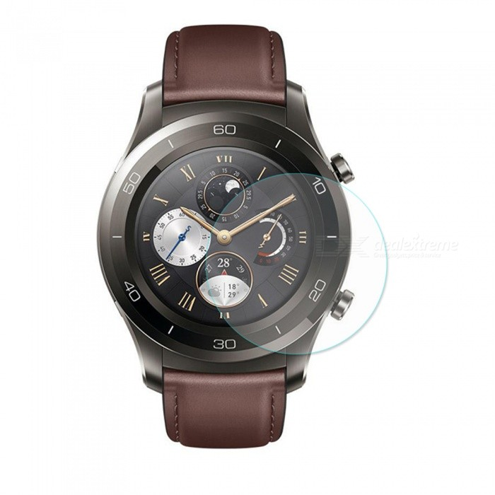 Hat-Prince Ultra Thin Clear Tempered Glass Screen Protector Film for HUAWEI Watch 2 ProWearable Device Accessories<br>ColorTransparentModel-Quantity1 DX.PCM.Model.AttributeModel.UnitMaterialTempered GlassPacking List1 x Screen Protector1 x Dust Remover1 x Cleaning Cloth1 x Alcohol Prep Pad<br>