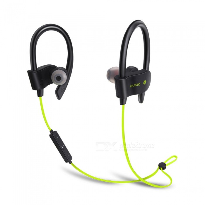 56S Sports Wireless Bluetooth Ear Hook Style In-Ear Earphones Sweatproof Stereo Earbuds Headset with Mic for Smartphone - GreenHeadphones<br>ColorGreenBrandOthers,EastorModel56SMaterialABSQuantity1 DX.PCM.Model.AttributeModel.UnitConnectionBluetoothBluetooth VersionBluetooth V4.1Bluetooth ChipCSROperating Range10MConnects Two Phones SimultaneouslyYesCable Length55 DX.PCM.Model.AttributeModel.UnitLeft &amp; Right Cables TypeEqual LengthHeadphone StyleIn-Ear,NeckbandWaterproof LevelIPX2Applicable ProductsUniversalHeadphone FeaturesEnglish Voice Prompts,Long Time Standby,Noise-Canceling,Volume Control,With Microphone,Lightweight,Portable,For Sports &amp; ExerciseRadio TunerNoSupport Memory CardNoSupport Apt-XNoBattery TypeLi-polymer batteryBuilt-in Battery Capacity 20 DX.PCM.Model.AttributeModel.UnitStandby Time200 DX.PCM.Model.AttributeModel.UnitTalk Time6 DX.PCM.Model.AttributeModel.UnitMusic Play Time4-5 DX.PCM.Model.AttributeModel.UnitPower AdapterUSBPower Supply5V 1APacking List1 x Bluetooth Earphone1 x USB Cable<br>