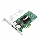 82575 10/100/1000mbps pci-express 1000 pt dual port server adapter nic