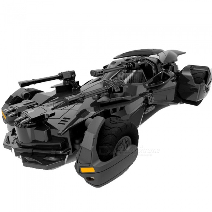 Dark Knight Vehicle Model 2.4G Wireless Remote Control RC Car Toy for Boy GiftR/C Cars<br>ColorBlackModel301MaterialABSQuantity1 setShade Of ColorBlackShape ModelOffroad CarScaleOthers,1:18Channels Quanlity4 channelFunctionLeft,Right,Forward,BackwardRemote control frequency2.4GHzRemote Control Range30 mSuitable Age 6-9 months,9-12 months,13-24 months,12-15 years,Grown upsLamp NoBattery CapacityNi-Cd 700 mAhBattery TypeAACharging Time1-6 hoursWorking Time1 hourRemote Controller Battery TypeAAARemote Controller Battery Number3Packing List1 x Toy 1 x Remote control<br>