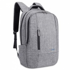 DTBG Nylon Durable Water Resistant Laptop Backpack with Bubble Pad for 17.3 Inch Laptops - Grey