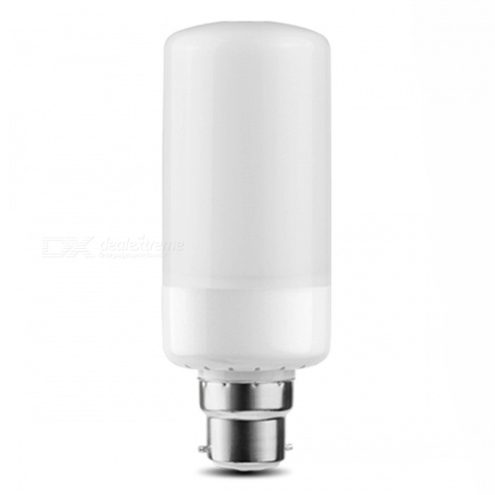 P-TOP B22 Flame Effect Light Bulb AC85V-265V 3 Modes Christmas Garden Decoration LED Lamp Bulb - 1PCE27<br>Socket TypeB22Quantity1PCSMaterialABSQuantity1 DX.PCM.Model.AttributeModel.UnitRated VoltageAC 85-265 DX.PCM.Model.AttributeModel.UnitEmitter TypeLEDTotal Emitters99Actual Lumens700 DX.PCM.Model.AttributeModel.UnitColor Temperature2000KDimmableYesBeam Angle360 DX.PCM.Model.AttributeModel.UnitPowerOthers,9WPacking List1 x Flame Bulb<br>